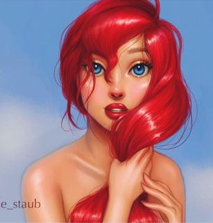 Simsworkshop: Disney Princesses posters by Vibage