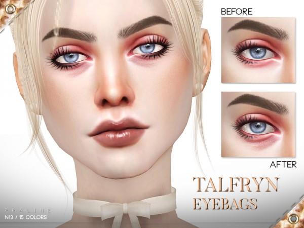 The Sims Resource: Talfryn Eyebags N13 by Pralinesims