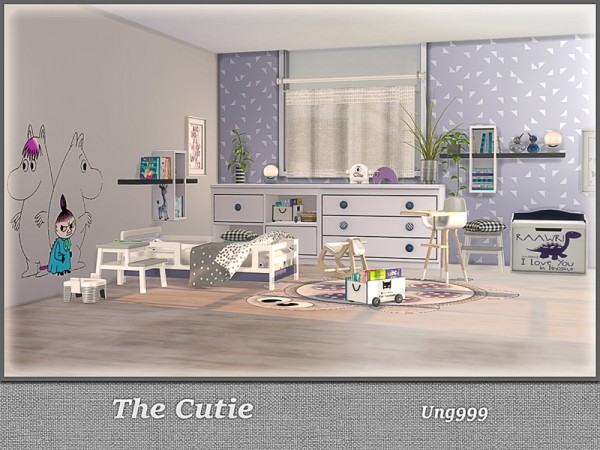 The Sims Resource: The Cutie kidsroom by ung999