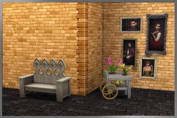 Blackys Sims 4 Zoo: Tao brick set by  Cappu