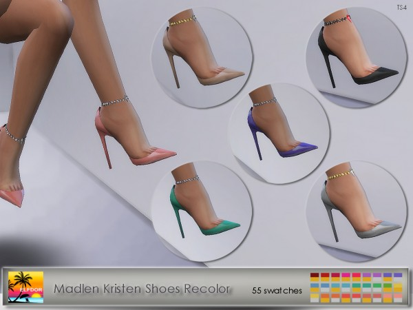 Elfdor: Madlen`s Kristen Shoes Recolor