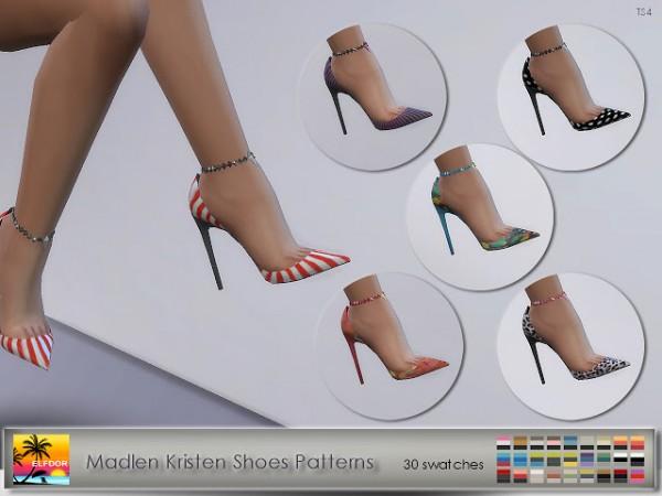Elfdor: Madlen`s Kristen Shoes Patterns