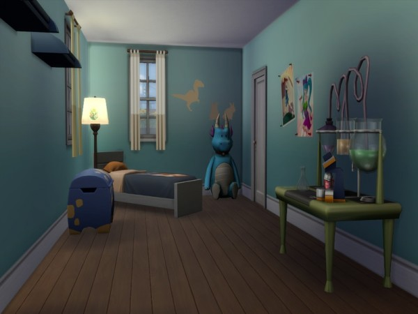 The Sims Resource: Pebblebrook home no cc by JanisaSims