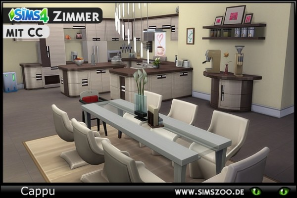 Blackys Sims 4 Zoo: Valeria kitchen by Cappu