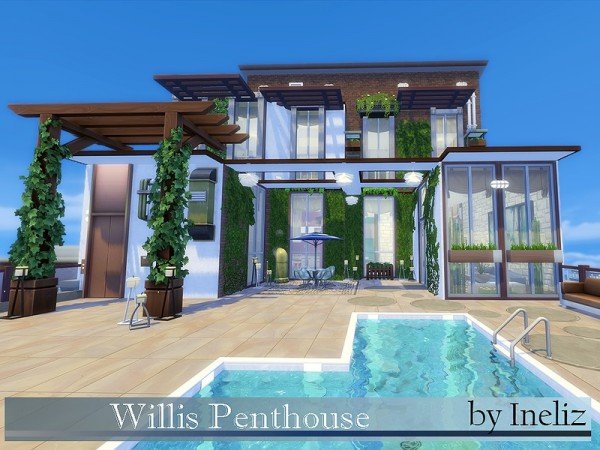 The Sims Resource: Willis Penthouse by Ineliz