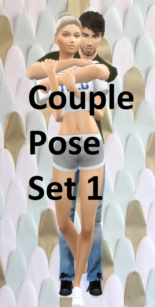 Lexiicas Sims: Couple Pose Set 1