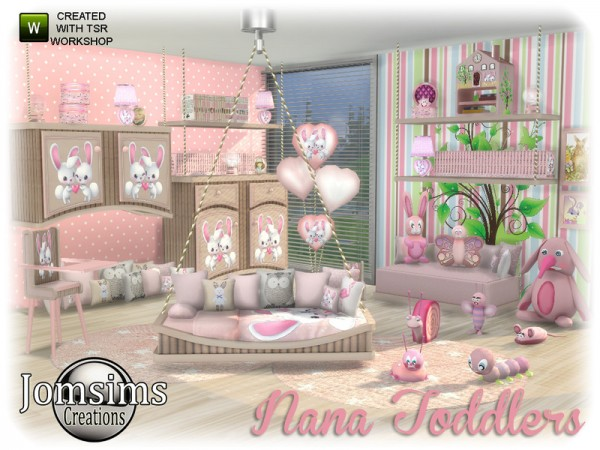 The Sims Resource Nana Toddlers Bedroom By Jomsims O Sims