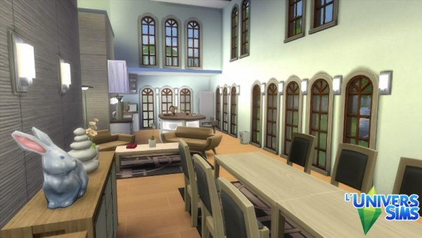 Luniversims: Archisims house by Falco