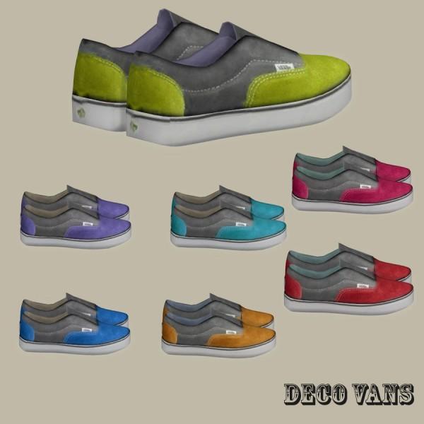 Leo 4 Sims: Va shoes deco