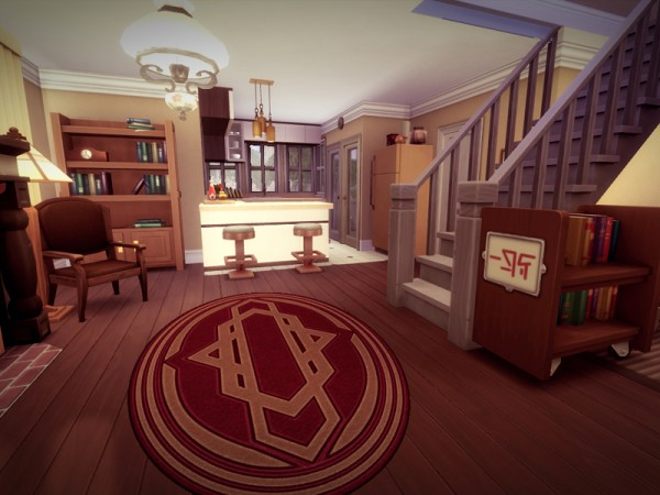 The Sims Resource: Jersey House   NO CC! by melcastro91
