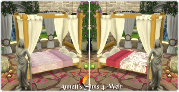 Annett`s Sims 4 Welt: Bed SunliteTides