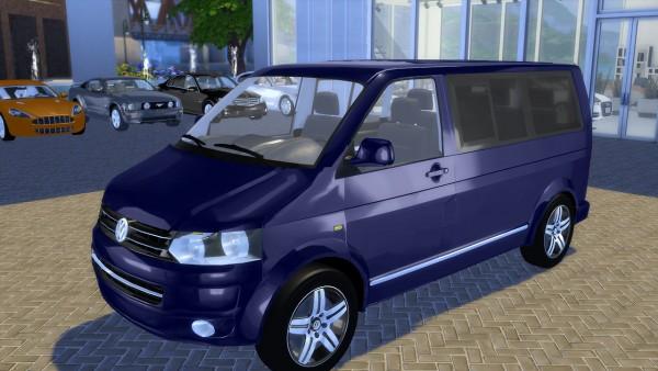 oceanrazr vw t5 caravelle highline 2010 sims 4 downloads. Black Bedroom Furniture Sets. Home Design Ideas