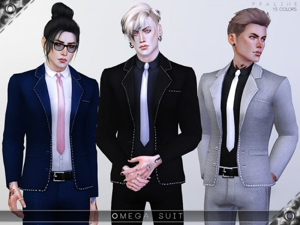 The Sims Resource: Omega Suit by Pralinesims