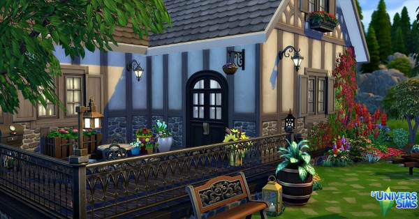 Luniversims: Me Aumière house by Sirhc59