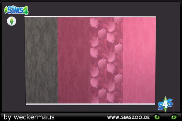 Blackys Sims 4 Zoo: Hot red walls by weckermaus