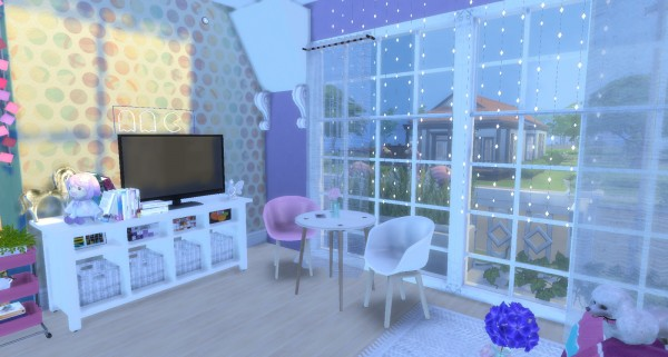 Pandashtproductions Unicorn House By Rissy Rawr Sims 4