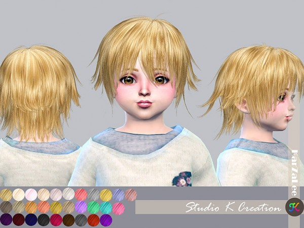 Studio K Creation: Animate hairstyle 80   Yuji for toddler