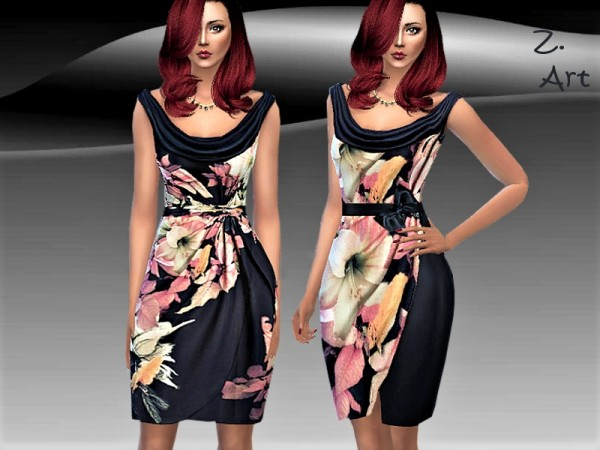 The Sims Resource: LadieZ. 04 dress by Zuckerschnute20
