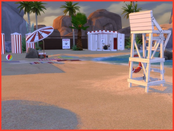 The Sims Resource: Vintage Beach set by Angela