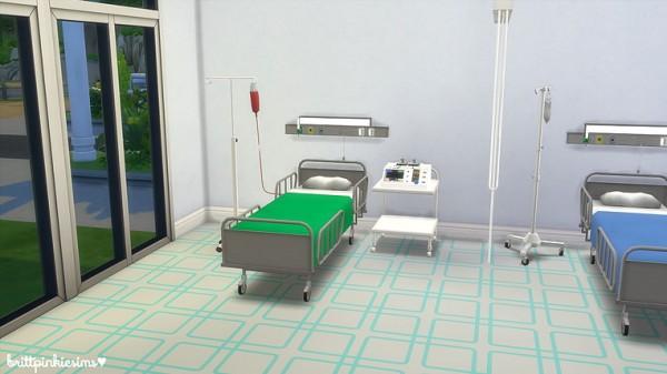 Brittpinkiesims Hospital Set Sims 4 Downloads