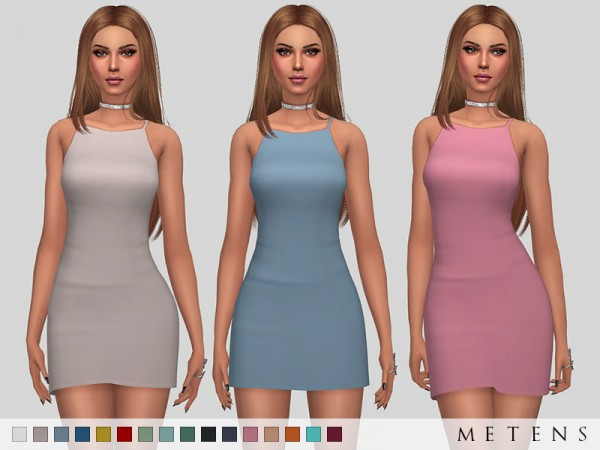 The Sims Resource: Sullivan Dress by Metens