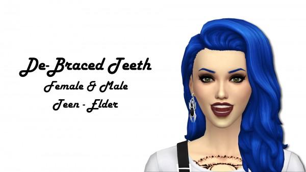 Mod The Sims: De Braced Teeth by CemeterySims
