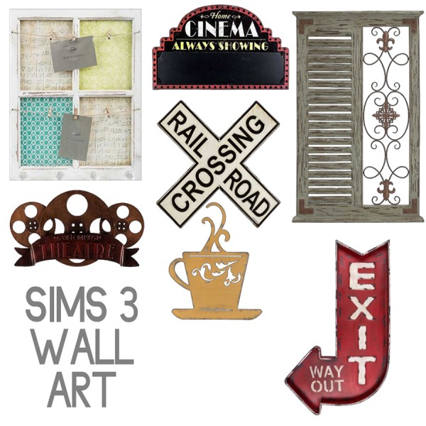 Leo 4 Sims: Wall stencils