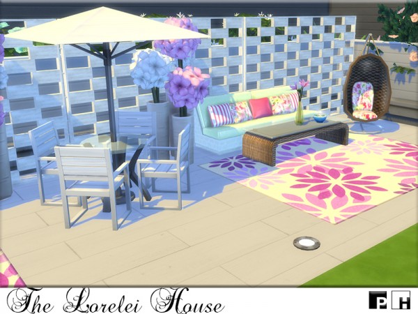 The Sims Resource: The Lorelei House by Pinkfizzzzz
