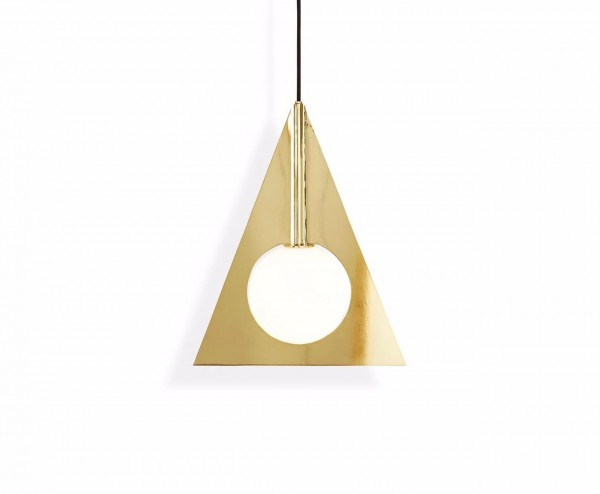 Meinkatz Creations: Plane Triangle Pendant by Tom Dixon