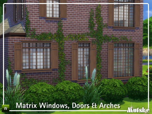 The Sims Resource: The Matrix Construction set by mutske