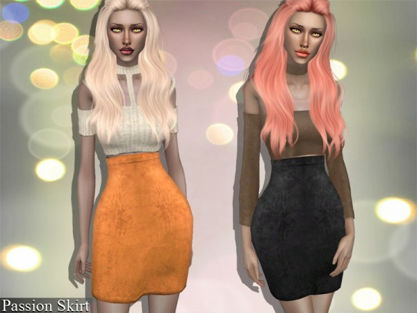 The Sims Resource: Passion Skirt by Genius666