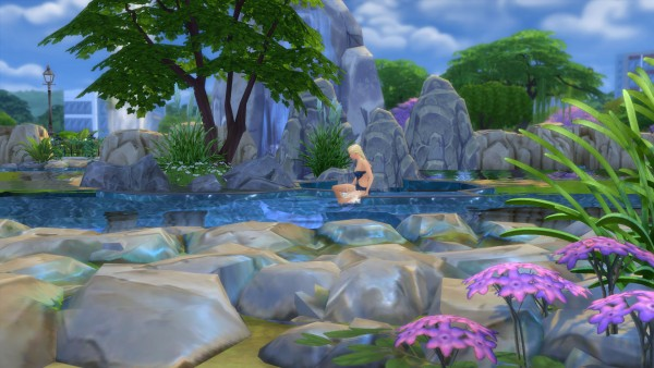 Mod The Sims Mermaid Lake Diving Spot By Snowhaze Sims