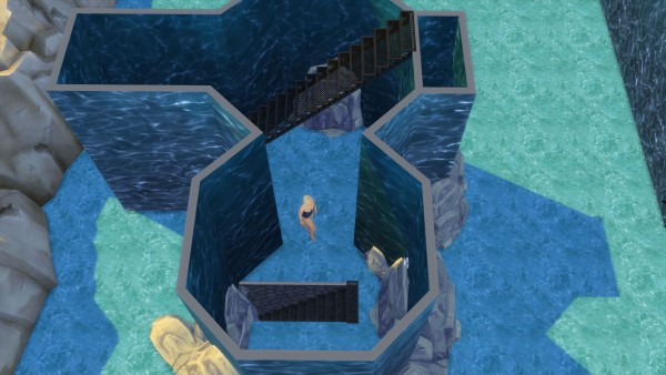Mod The Sims: Mermaid Lake Diving Spot by Snowhaze