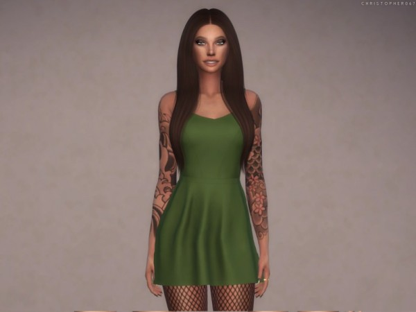 The Sims Resource: Juliet Dress by Christopher067