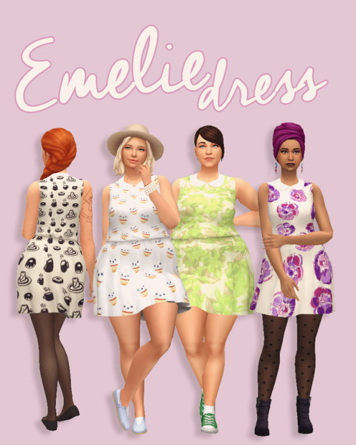 Hamburgercakes: Emelie Dress