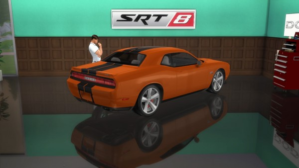 Lory Sims Dodge Challenger Srt8 Sims 4 Downloads