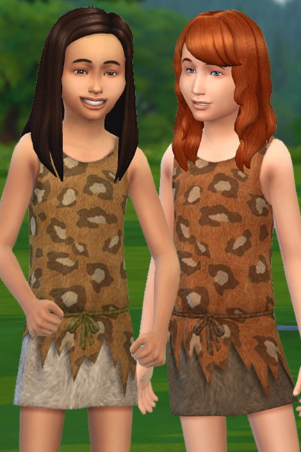 Blackys Sims Zoo : Fur outfit 2 by mammut