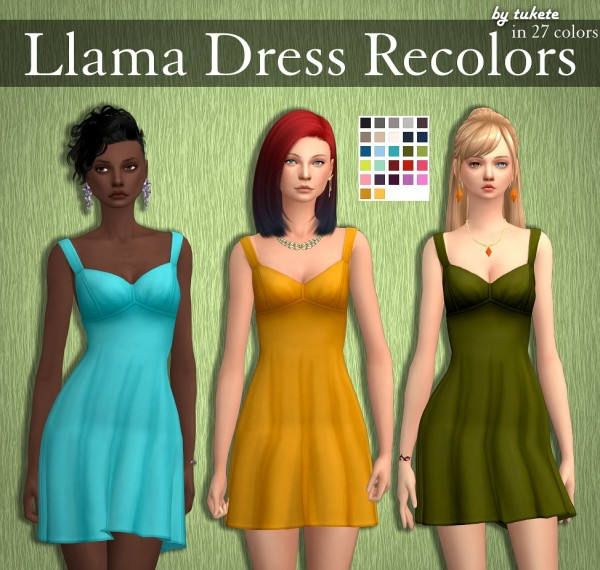 Tukete: Llama dress