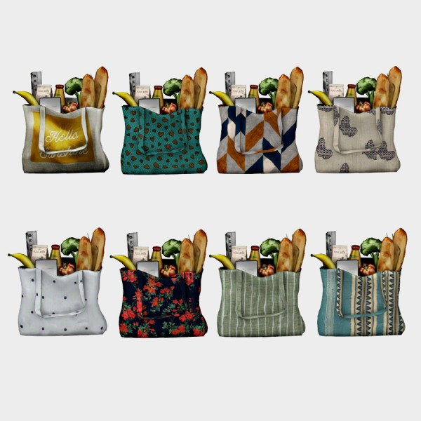 Leo 4 Sims Grocery Bag Sims 4 Downloads
