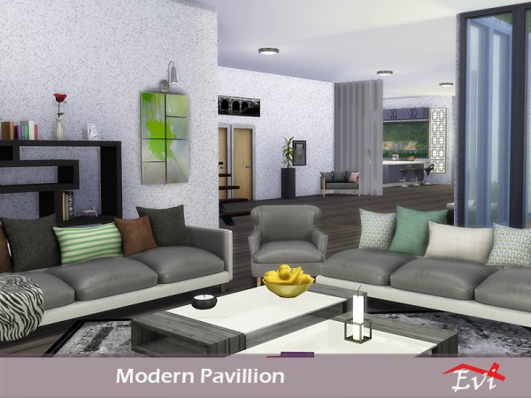 The Sims Resource: Modern Pavillion by evi