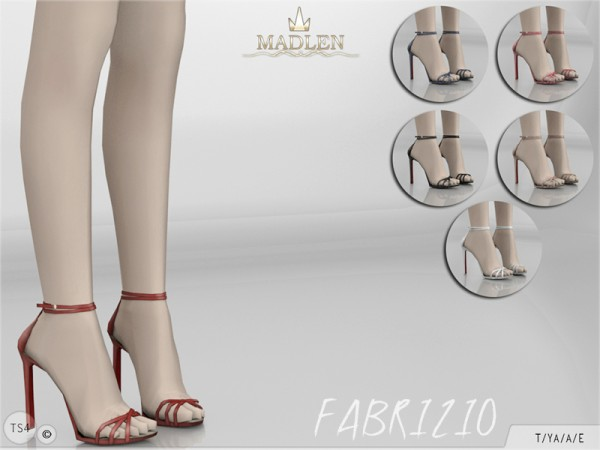 The Sims Resource: Madlen`s Fabrizio Shoes by MJ95