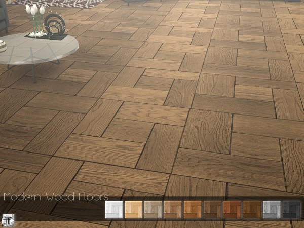 The Sims Resource: Modern Wood Floor by .Torque