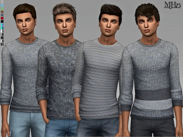 The Sims Resource: Jerome Sweaters by Margeh 75