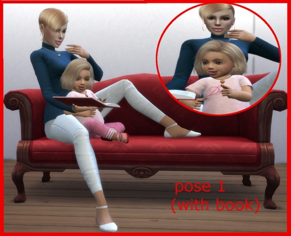 Mod The Sims: Cuddling on the Couch by buitefr1