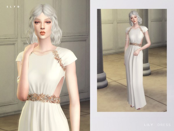 The Sims Resource: Lily Dress by SLYD