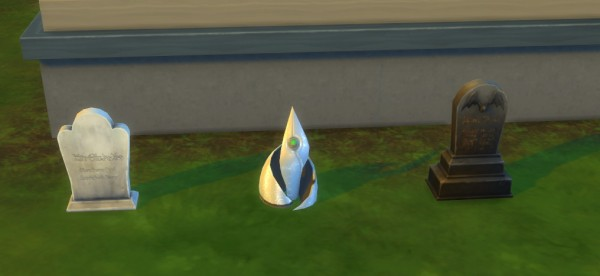 Mod The Sims: Buyable Urnstones and Tombstones by Tremerion