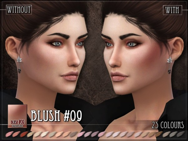 The Sims Resource: Blush 09 by RemusSirion