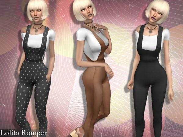 The Sims Resource: Lolita Romper by Genius666