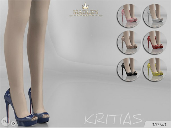 The Sims Resource: Madlen Kritias Shoes by MJ95