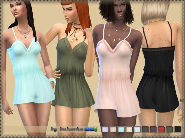 The Sims Resource: Jumpsuit by bukovka